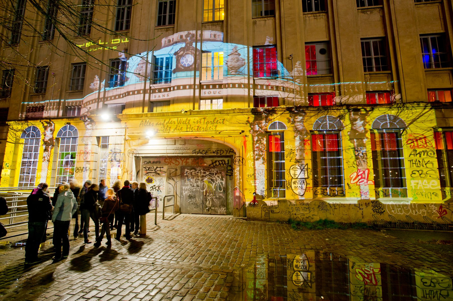 Take a virtual tour of Berghain